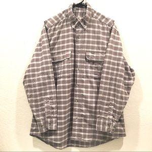 Woolrich Cotton Lumberjack Plaid Flannel Shirt